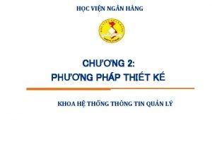 HC VIN NG N HNG CHNG 2 PHNG
