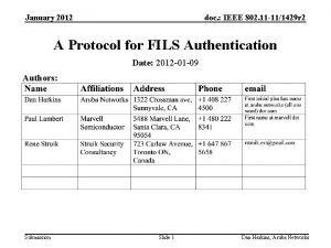 January 2012 doc IEEE 802 11 111429 r