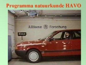 Programma natuurkunde HAVO Materiaal Havo 4 1 Systematische