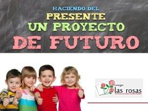 COLEGIO LAS ROSAS BIENVENIDOS Fundado en 1996 Colegio