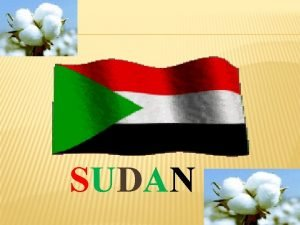 SUDAN ICAC 13 th Meeting of the Inter