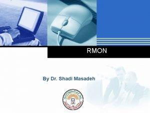 RMON By Dr Shadi Masadeh Company LOGO RMON