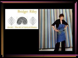 Bridget Riley Op Art The Art of Optical