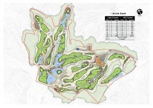 Score Card Hole 1 Hole Description Lake Course