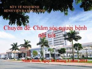 S Y T NINH BNH BNH VIN A