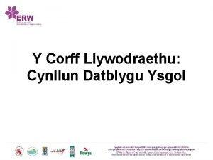 Y Corff Llywodraethu Cynllun Datblygu Ysgol Gweledigaeth Delwedd