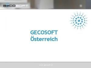 GECOSOFT sterreich www gecosoft at Ge COSOFT sterreich