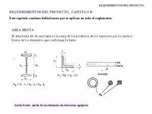 REQUERIMIENTOS DEL PROYECTO CAPITULO B Este capitulo contiene