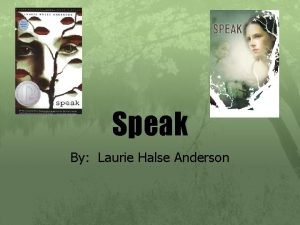 Speak By Laurie Halse Anderson Themes These themes