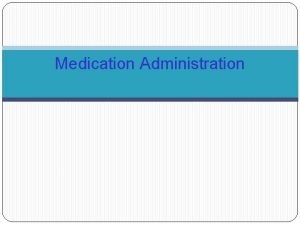 Medication Administration Automated Medication Administration Equipment Pyxis Sure