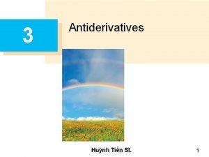 3 Antiderivatives Hunh Tin S 1 Antiderivatives A
