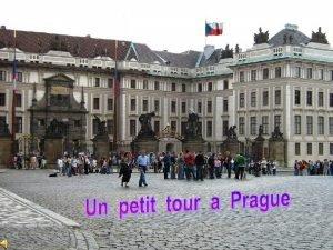 Palais Archipiscopal prs du Chteau de Prague En