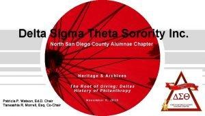 Delta Sigma Theta Sorority Inc North San Diego