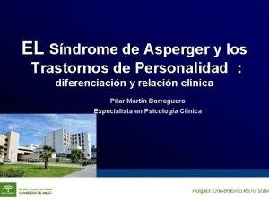 EL Sndrome de Asperger y los Trastornos de