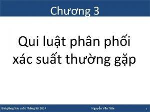 Chng 3 Qui lut phn phi xc sut