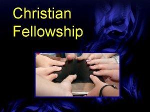 Christian Fellowship Church Membership Requirements Community Church Ormond