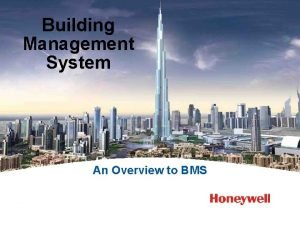 Building Management System An Overview to BMS What