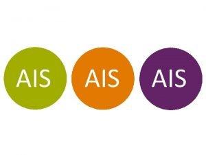 AIS AIS AIS is a leading manufacturer of