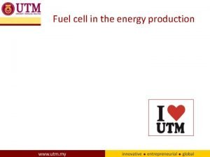 Fuel cell in the energy production Fuel cell