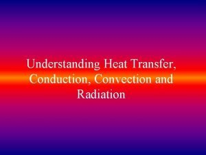 Understanding Heat Transfer Conduction Convection and Radiation WARM