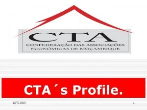 Balano do Plano Estratgico 2010 2014 CTAs Profile