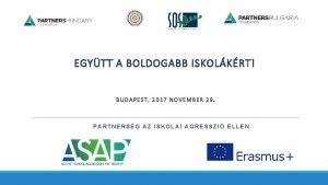 EGYTT A BOLDOGABB ISKOLKRT BUDAPEST 2017 NOVEMBER 29