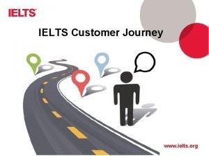 IELTS Customer Journey www ielts org Customer Journey