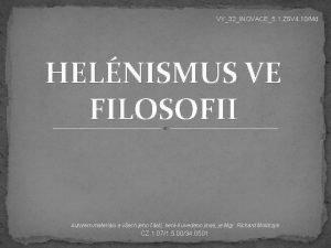 VY32INOVACE5 1 ZSV 4 10Md HELNISMUS VE FILOSOFII