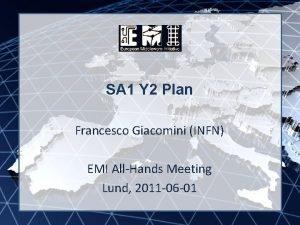 SA 1 Y 2 Plan EMI INFSORI261611 Francesco