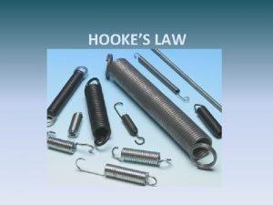 HOOKES LAW SIR ROBERT HOOKE 1635 1703 English