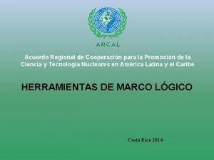 Acuerdo Regional de Cooperacin para la Promocin de