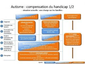 Autisme compensation du handicap 12 situation actuelle une
