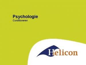Psychologie Conditioneren Tijd voor een experiment Wil je