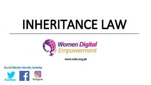 Laws Governing Women Property Rights in the Country
