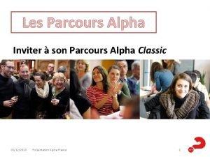 Les Parcours Alpha Inviter son Parcours Alpha Classic