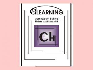 Metabolismus II CH 4 Chemick reakce a dje