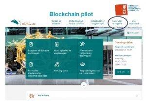 Blockchain pilot Proces aanvraag duurzaamheidslening als een blockchain