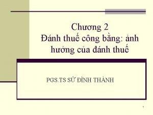 Chng 2 nh thu cng bng nh hng
