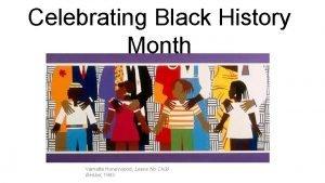 Celebrating Black History Month Varnette Honeywood Leave No