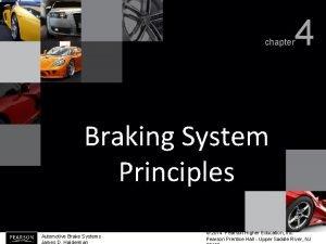 chapter 4 Braking System Principles Automotive Brake Systems