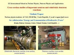 XX International School on Nuclear Physics Neutron Physics