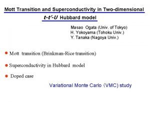 Mott Transition and Superconductivity in Twodimensional ttU Hubbard