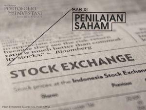 OVERVIEW 145 Nilai intrinsik dan nilai pasar saham