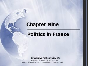 Chapter Nine Politics in France Comparative Politics Today