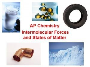 AP Chemistry Intermolecular Forces and States of Matter