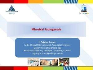 Microbial Pathogenesis renme Hedefleri Etkenkonak etkileimi belirleyen faktrleri