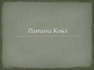 Zamania Koci Czym jest zamanie koci Zamanie jest