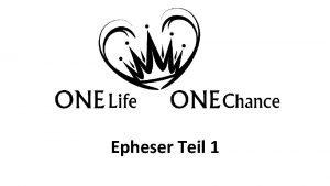 Epheser Teil 1 Epheser Kapitel 6 Verse 155