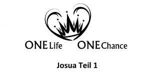 Josua Teil 1 Josua Kapitel 24 Verse 658