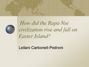 How did the Rapa Nui civilization rise and